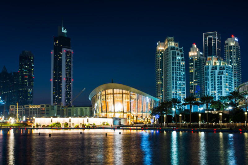 egy este a Dubai Operaházban