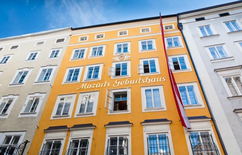 Ausztria | Salzburg | Mozart szülőház - OTP Travel Utazási Iroda