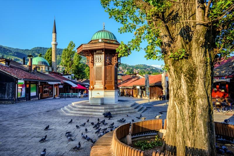Bosznia-Hercegovina | Szarajevó | Óváros / Bašcaršija - OTP Travel Utazási Iroda