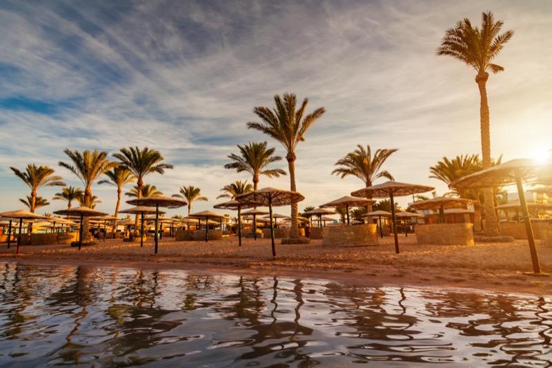 Egyiptom | Hurghada | napernyők - OTP Travel Utazási Iroda