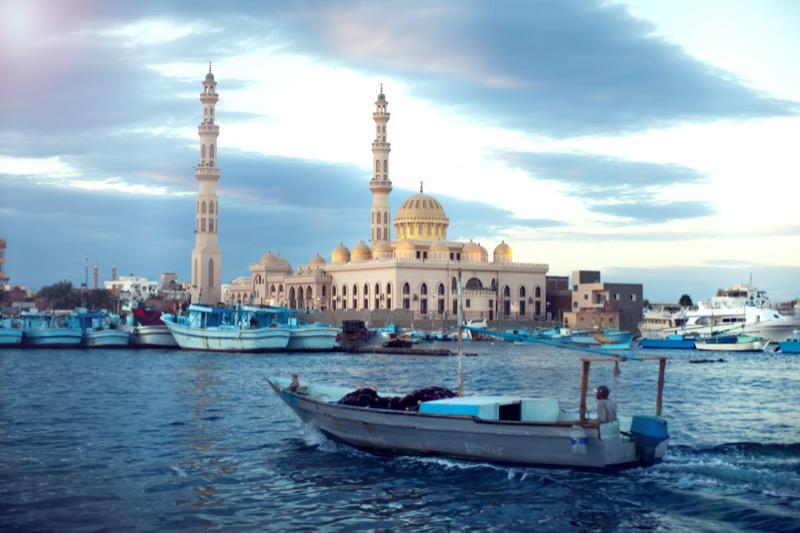 Egyiptom | Hurghada | központi mecset - OTP Travel Utazási Iroda
