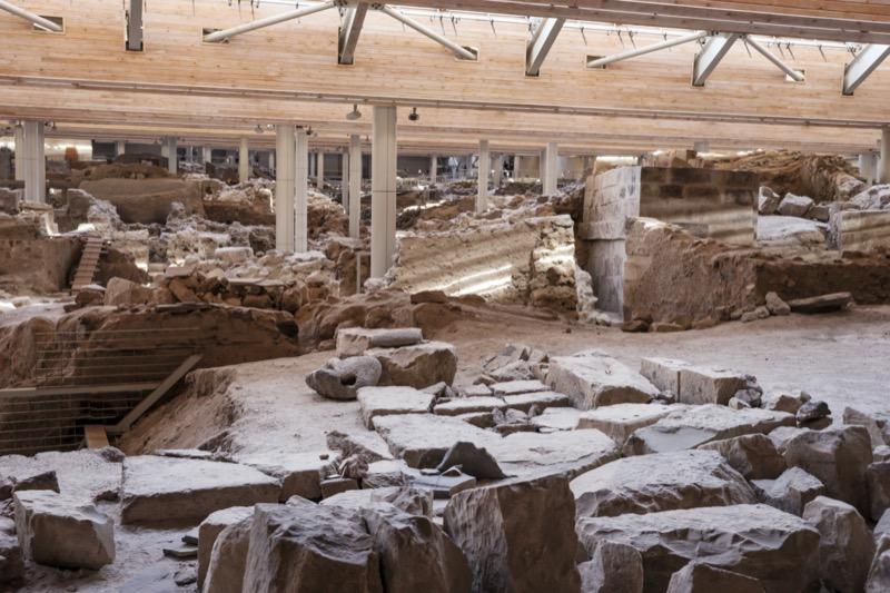 Görögország | Santorini | Akrotiri ásatások | OTP Travel Utazási Iroda