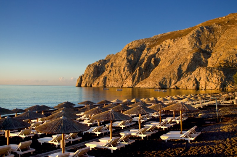 Görögország | Santorini | Kamari Beach | OTP Travel Utazási Iroda