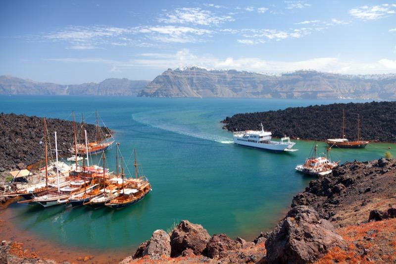 Görögország | Santorini | Nea Kameni | OTP Travel Utazási Iroda