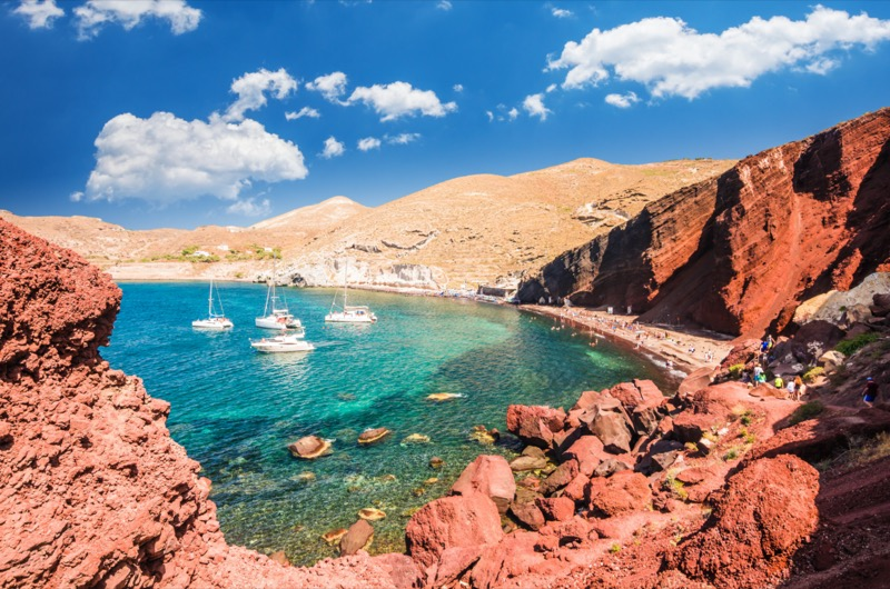 Görögország | Santorini | A vörös strand színeinek felfedezése | OTP Travel Utazási Iroda