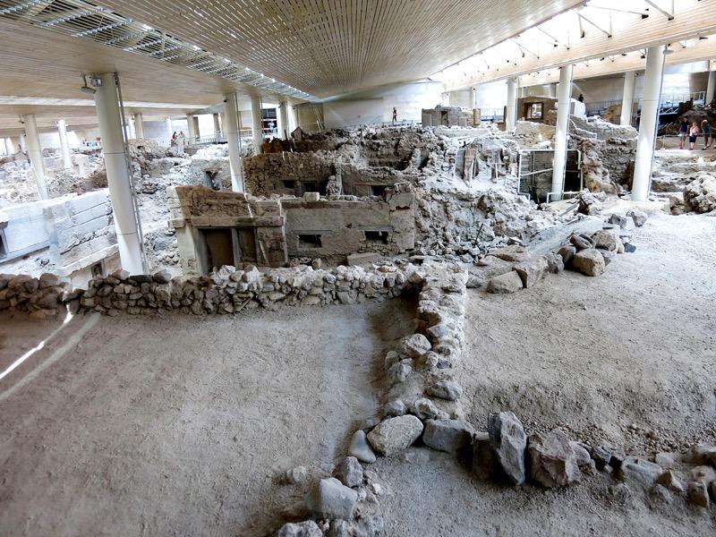 Görögország | Santorini | Az Akrotiri ásatások megtekintése | OTP Travel Utazási Iroda