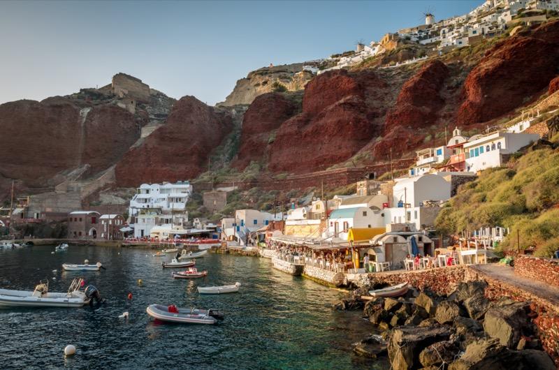 Görögország | Santorini | Vacsora az Ammoudin | OTP Travel Utazási Iroda