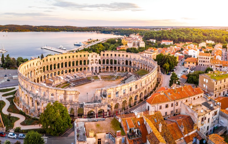 Horvátország 30 tény | Pula - OTP Travel Utazási Iroda