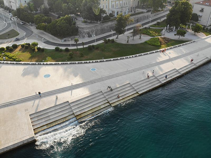 Horvátország   Zára orgonája a levegőből - OTP Travel Utazási Iroda