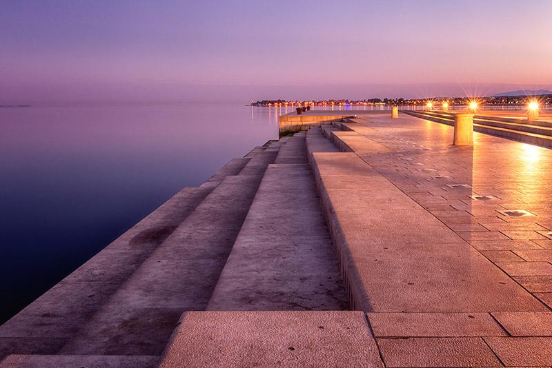 Horvátország   Zára orgonája a naplementében - OTP Travel Utazási Iroda