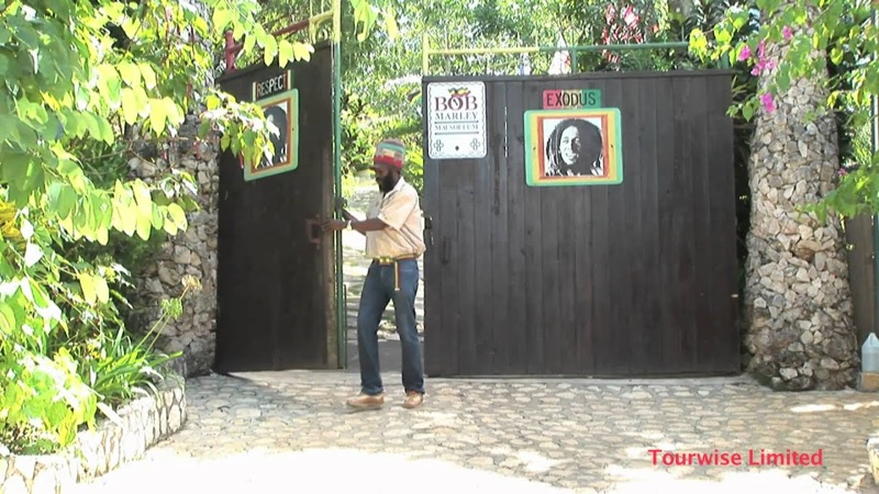 Jamaica, Bob Marley Múzeum kapu - OTP Travel Utazási Iroda