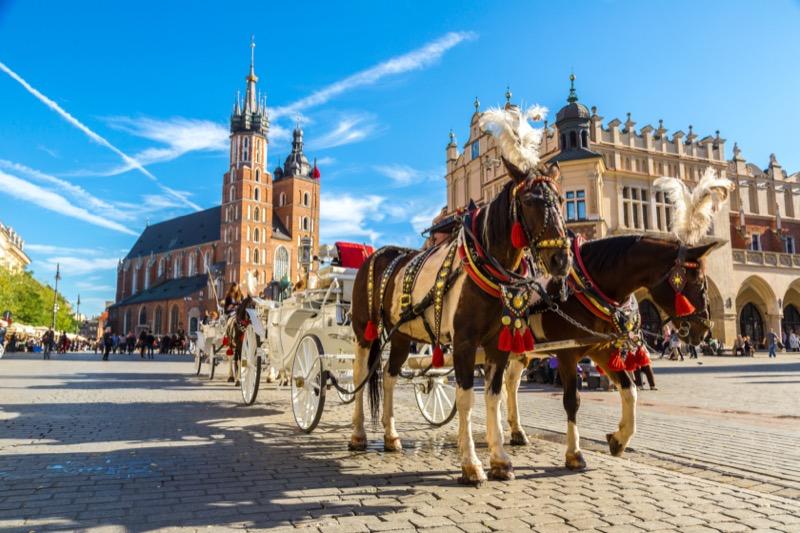 Lengyelország | Krakko | főtér - OTP Travel Utazási Iroda