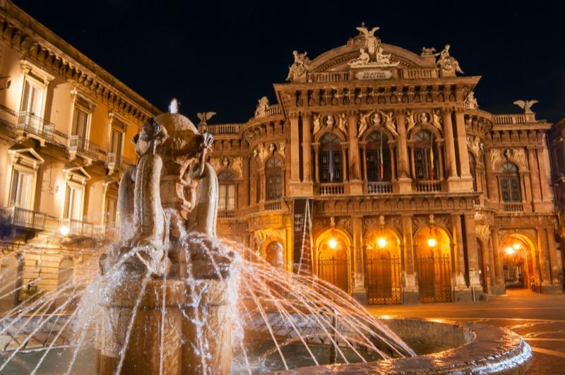 Olaszország | Szicília, Catania, Teatro Massimo - OTP Travel Utazási Iroda