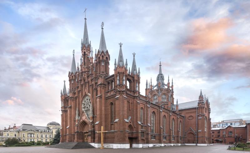 Oroszország | Moszkva | Szűz Mária Szeplőtelen Fogantatása székesegyház - OTP Travel Utazási Iroda
