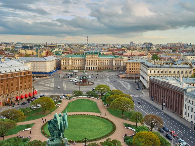 Oroszország | Szentpétervár | Kilátás a Szent Izsák-székesegyház tornyából - OTP Travel Utazási Iroda