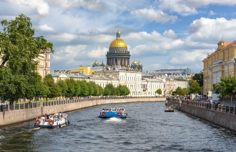 Oroszország | Szentpétervár | Tegyen egy körutazást a csatornákon! - OTP Travel Utazási Iroda