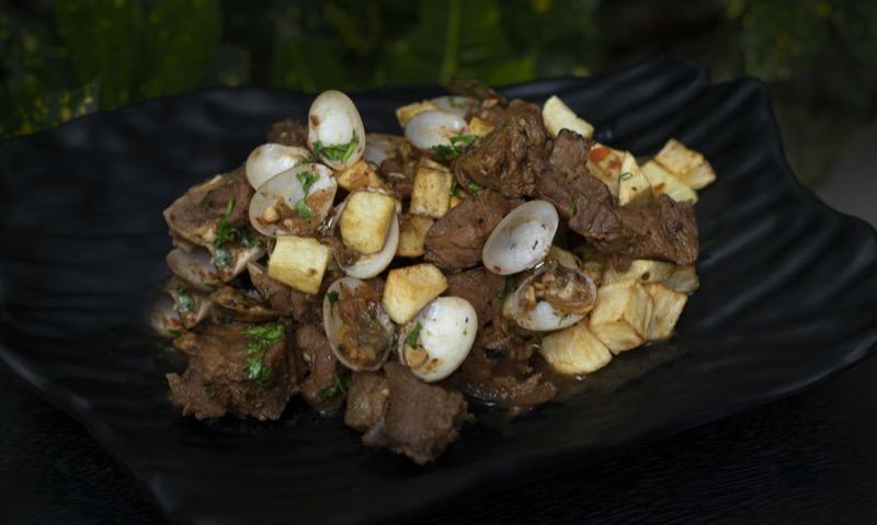 Top 3 portugál sertéshús étel | Carne de porco à Alentejana - OTP Travel Utazási Iroda