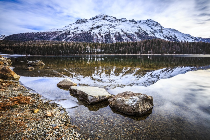 Svájc, St. Moritz, St Moritz-tó - OTP Travel Utazási Iroda