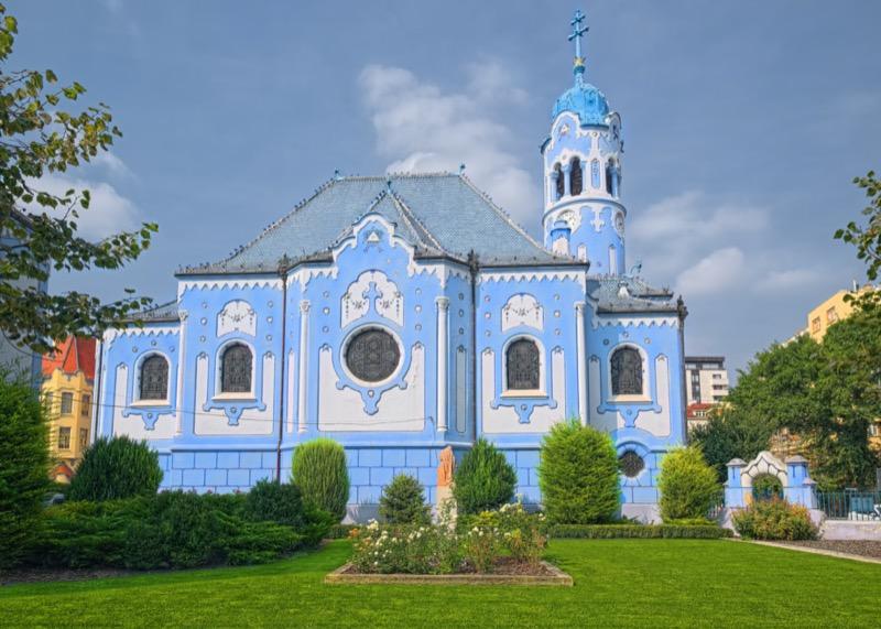 Szlovákia | Pozsony | Szent Erzsébet templom (kék templom) - OTP Travel Utazási Iroda