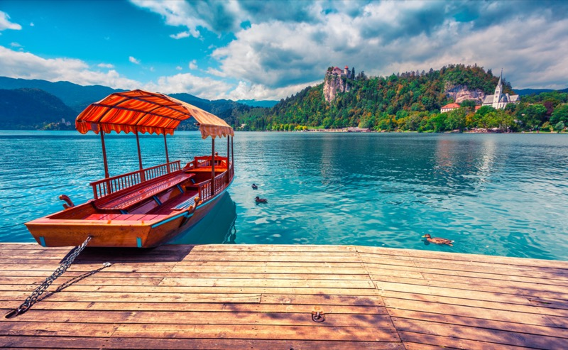 Szlovénia, Bledi-tó, Irány a sziget! - OTP Travel Utazási Iroda