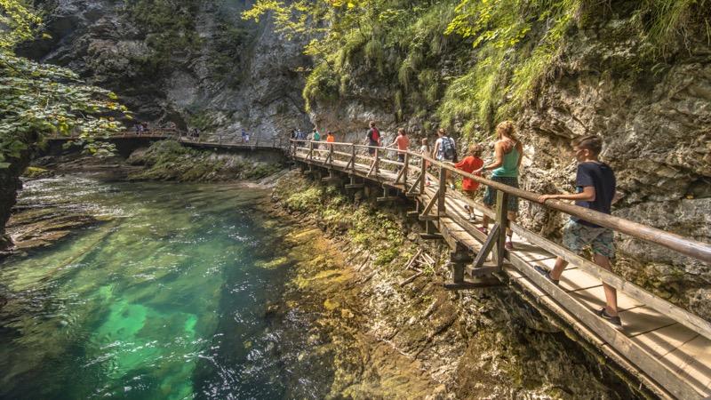 Szlovénia, Vintgar-szurdok - OTP Travel Utazási Iroda