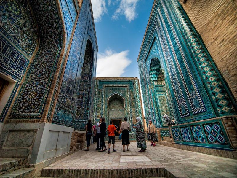 Üzbegisztán   2. Shah-i-Zinda - OTP Travel Utazási Iroda