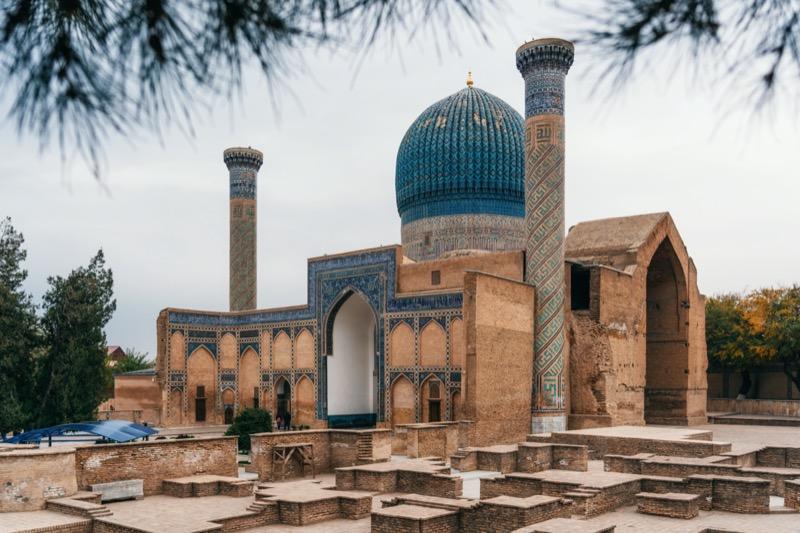 Üzbegisztán   3. Gur Emir mauzóleum - OTP Travel Utazási Iroda