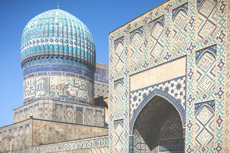 Üzbegisztán   4. Bibi Khanym mecset - OTP Travel Utazási Iroda