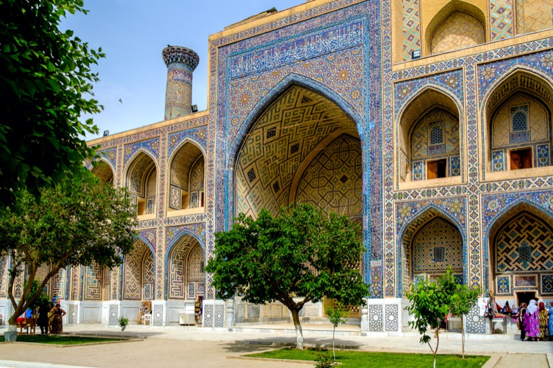 Üzbegisztán   7. Ulugbek Madrasah - OTP Travel Utazási Iroda