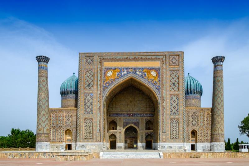 Üzbegisztán   9. Sher Dor Medresze - OTP Travel Utazási Iroda