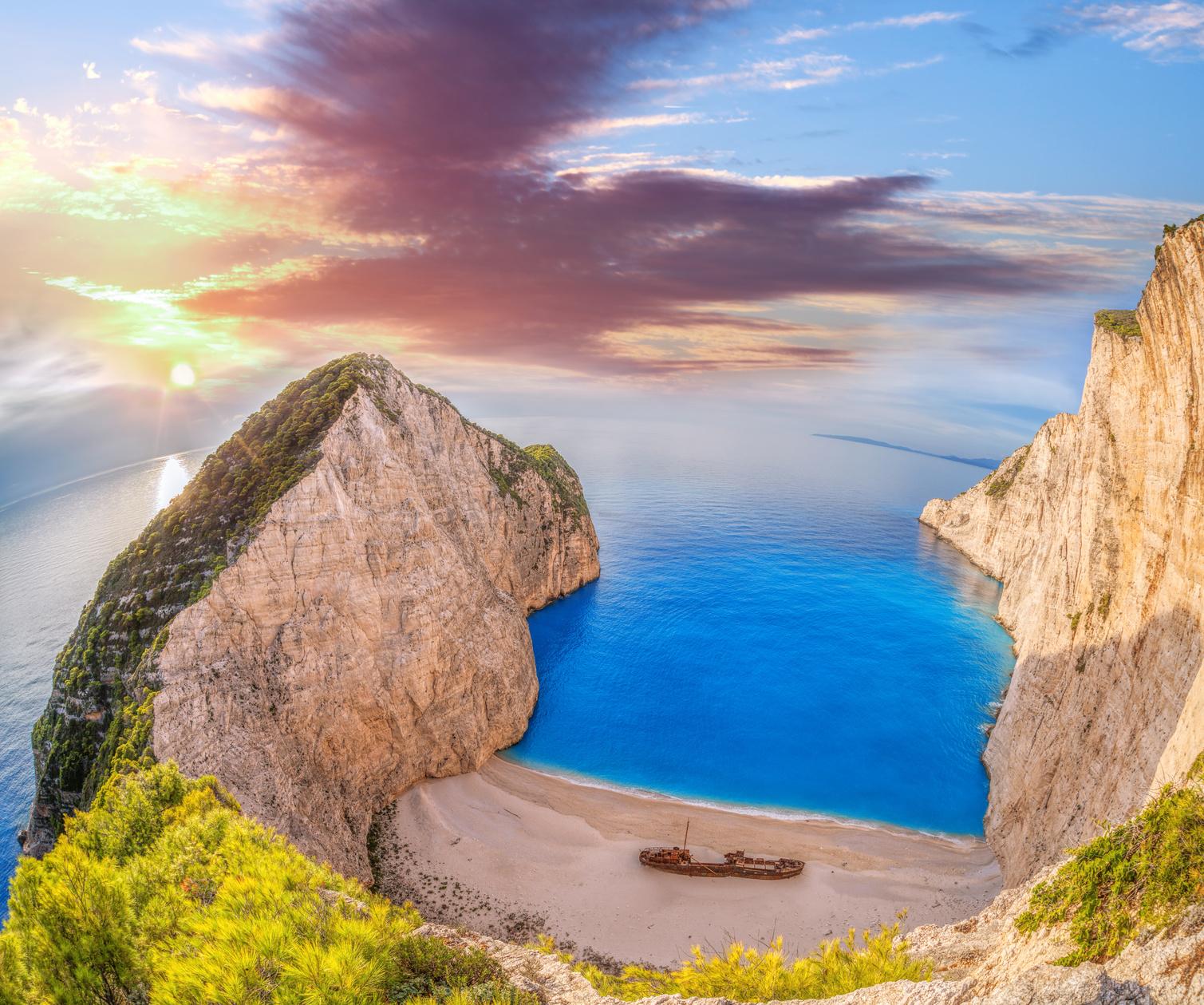 Legszebb partok a világban - Navagio Beach, Görögország