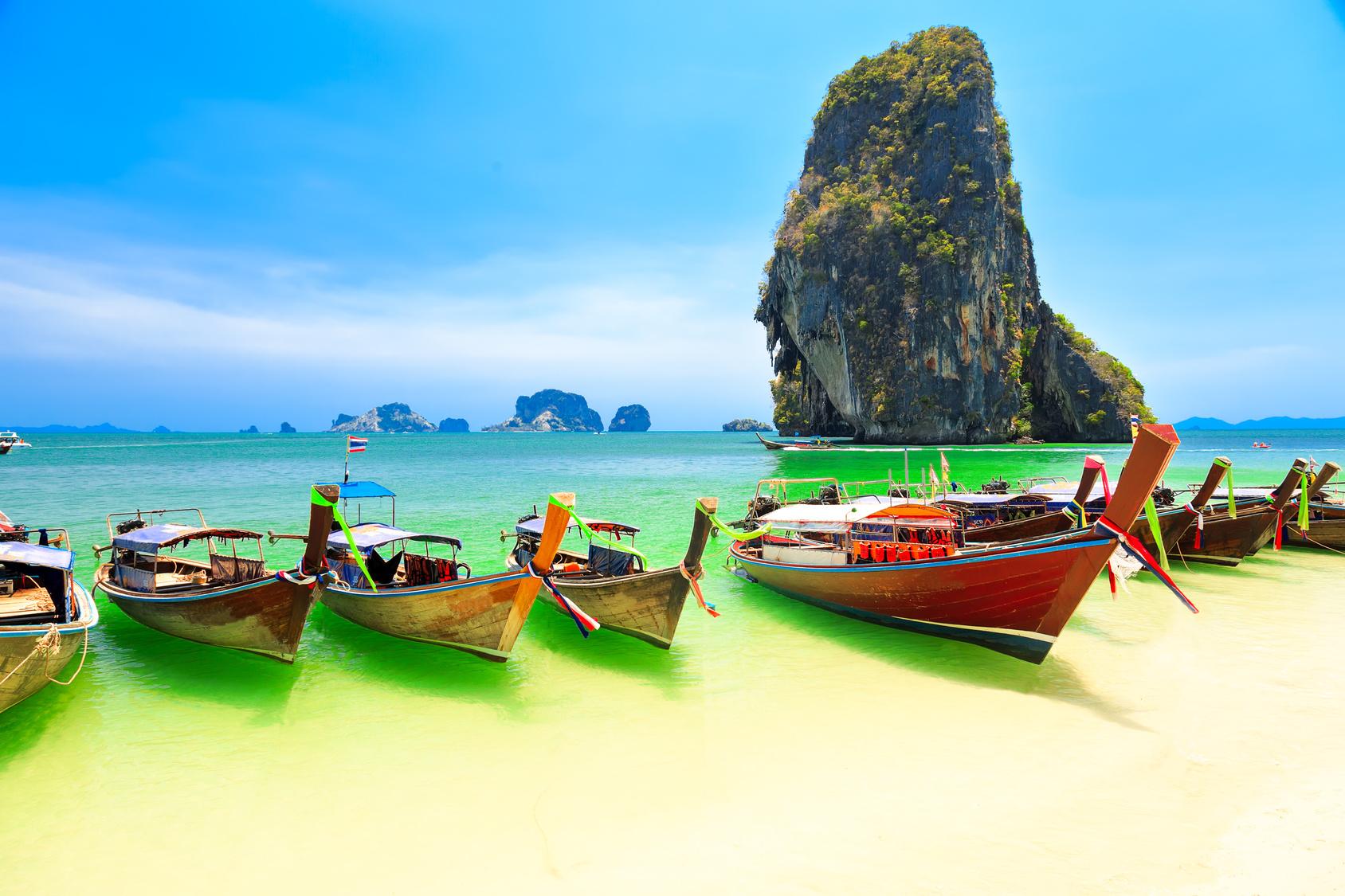 A világ legszebb strandjai - Railay Beach, Thaiföld