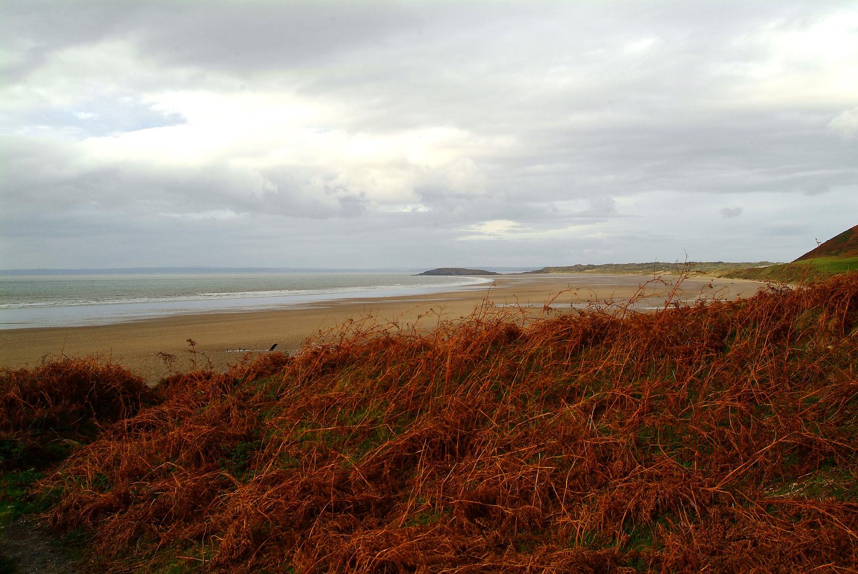 Legszebb tengerpartok a világ körül - Rhossili Bay, Wales