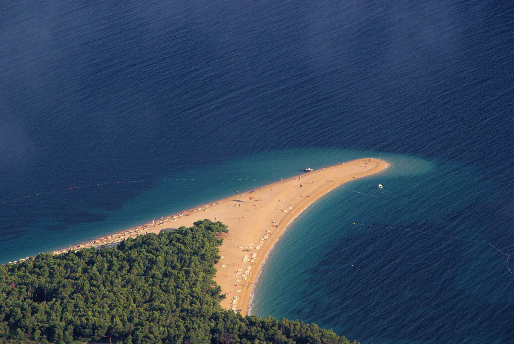 """""""Aranyszarv""""- Az Adria és a világ legszebb strandjainak egyike"""
