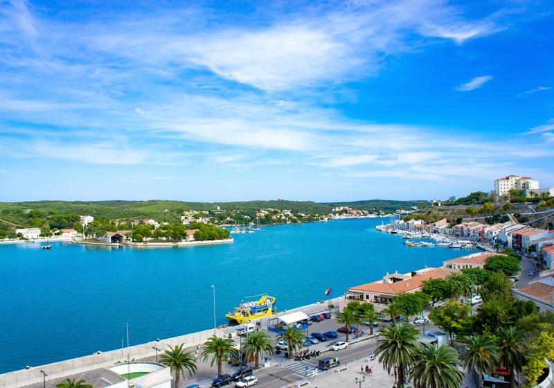 Menorcán van a világ második legnagyobb természetes kikötője. - OTP Travel Utazási Iroda
