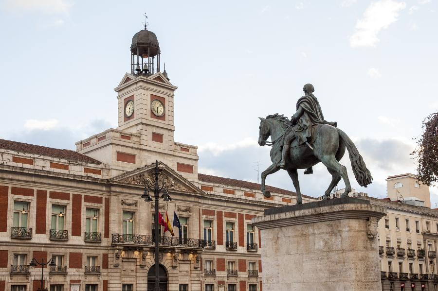 Madrid h tv ge madridban utaz s v rosl togat s v rosn z s for Km o madrid puerta del sol